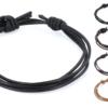 Lederband Knotenverschluss